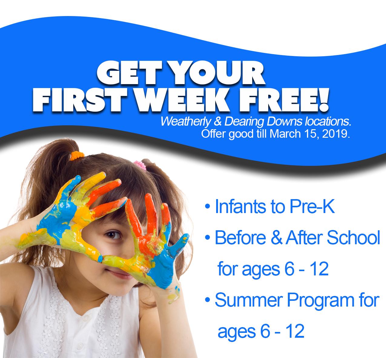 First Week Free